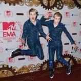 Jedward, incombustibles en los MTV EMA 2012
