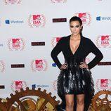 Kim Kardashian en los MTV EMA 2012