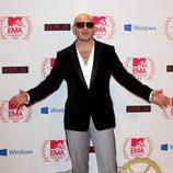 Pitbull en los MTV EMA 2012