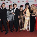 Los chicos de 'Gandía Shore' en los MTV EMA 2012