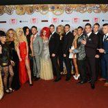 Encuentro entre 'Gandía Shore' y 'Geordie Shore' en los MTV EMA 2012