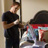 Michael C. Hall en el set de rodaje de la séptima temporada de 'Dexter'