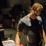 Dexter con una de sus víctimas de la séptima temporada