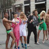 Los concursantes de 'Gandía Shore', semidesnudos para Primera Línea