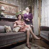 Foto promocional de 'Amar es para siempre' con Ana Barrachina y Teresa Lozano