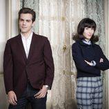 Marc Clotet y Barbara Goenaga son la pareja protagonista en 'Amar es para siempre'