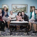 La familia Muñoz y la familia Gómez de 'Amar es para siempre'