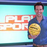 Juan Pablo Carpintero, presentador de 'Play Sports'