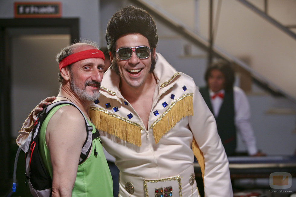 Enrique y Amador disfrazados en el capítulo 76 de 'La que se avecina'