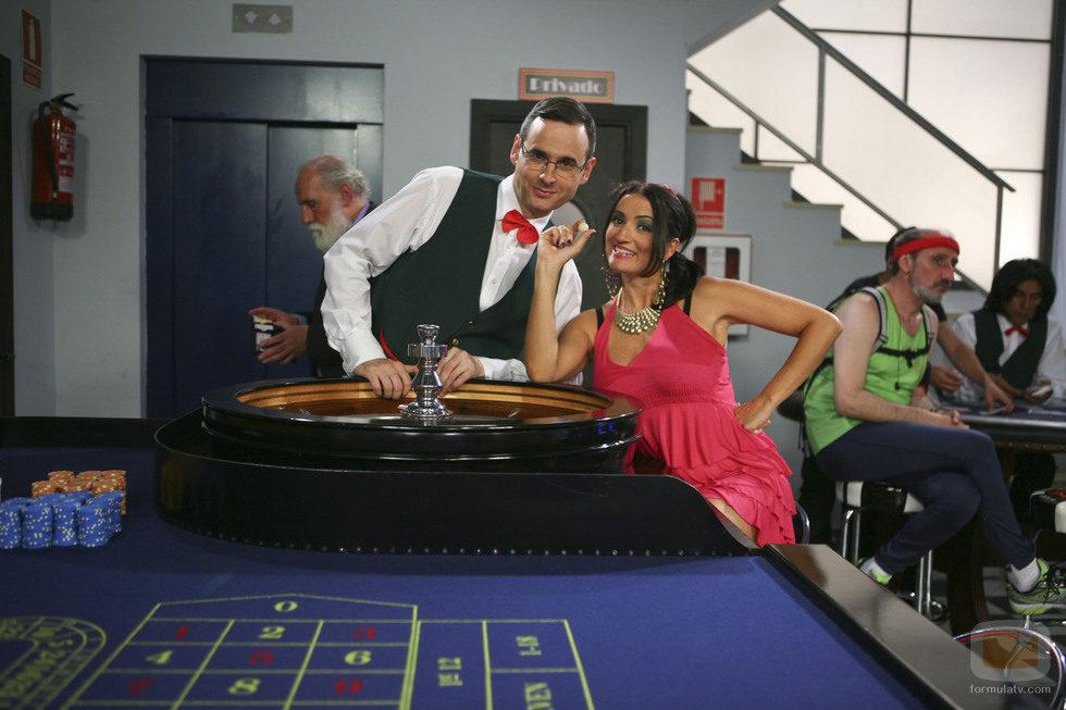 Luis Miguel Seguí y Silvia Abril aparecen disfrazados en el capítulo 76 de 'La que se avecina'