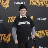 Tony Leblanc en el estreno de 'Torrente 4'