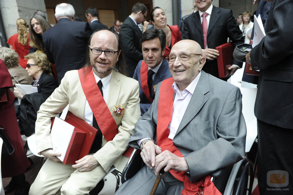 Tony Leblanc y Santiago Segura