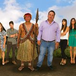 La tribu Shiwiar se reencontrará con la familia Merino en la segunda temporada de 'Perdidos en la ciudad'