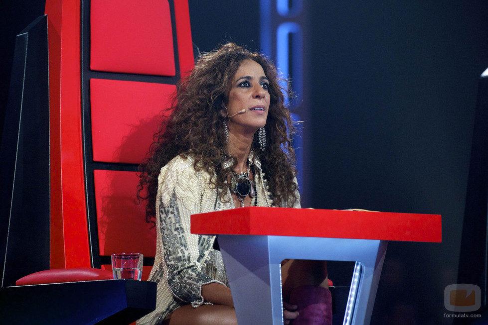 Rosario en la segunda gala de Los Directos de 'La Voz'