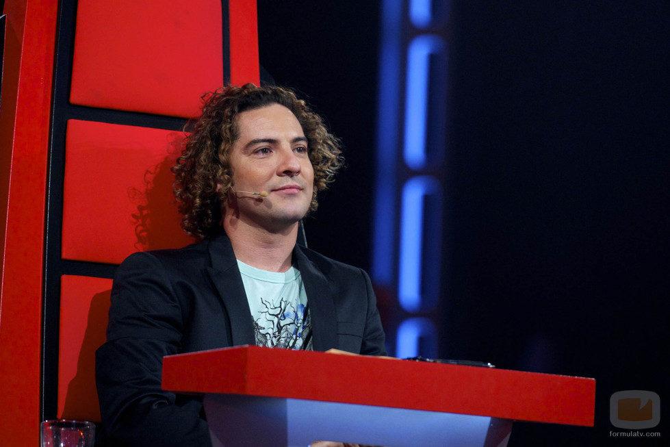 David Bisbal en la segunda gala de Los Directos de 'La Voz'