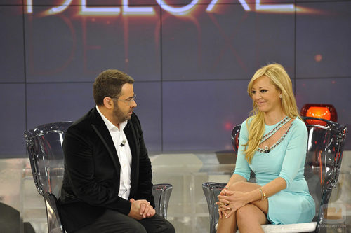 Jorge Javier Vázquez entrevista a Belén Esteban en 'Sálvame'