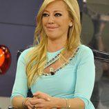 Belén Esteban, sonriente en su regreso a televisión
