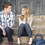 Carlota y Jacobo, personajes de 'Familia'