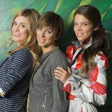 Las tres hermanas, Carlota, Malena y Natalia de 'Familia'