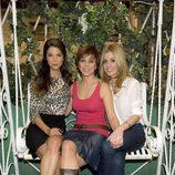 Malena, Carlota y Natalia, hermanas en 'Familia'