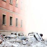 Imagen de la recreación del atentado de Carrero Blanco en 'El asesinato de Carrero Blanco'