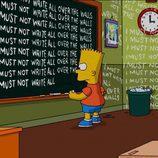 Bart en la temporada 22 de 'Los Simpson'