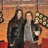 David Bisbal y su finalista Rafa Blas