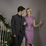 Connor Paolo en su regreso a 'Gossip Girl' con Kelly Rutherford