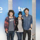 Juan Luis Suárez, Raquel del Rosario y David Feito representarán a España en el Festival de Eurovisión 2013