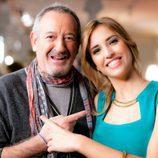 Karlos Arguiñano y Sandra Sabatés en la promo conjunta de Antena 3 y laSexta