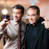 Arturo Valls y Antonio García Ferreras en la promo conjunta de Antena 3 y laSexta
