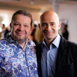 Antonio Lobato y Alberto Chicote en la promo conjunta de Antena 3 y laSexta
