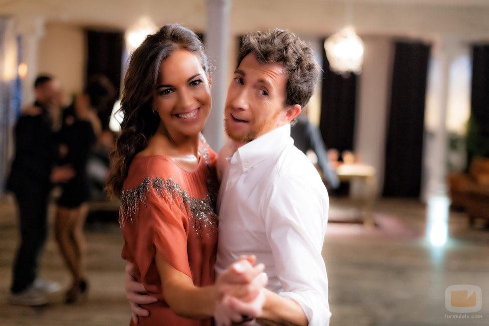 Pablo Motos y Cristina Saavedra en la promo conjunta de Antena 3 y laSexta