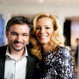 Paula Vázquez y Jordi Évole en la promo conjunta de Antena 3 y laSexta
