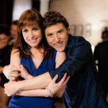Manel Fuentes y Mamen Mendizábal en la promo conjunta de Antena 3 y laSexta