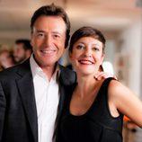 Matias Prats y Eva Hache en la promo conjunta de Antena 3 y laSexta