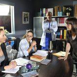 Blanca Portillo discute con Mar Regueras en una de las tramas de 'Hospital Central'