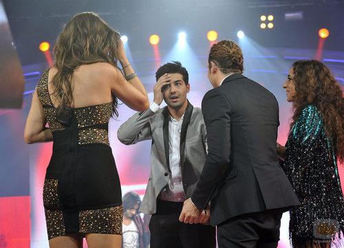 Jorge sorprendido al saber que es el segundo finalista de 'La Voz'