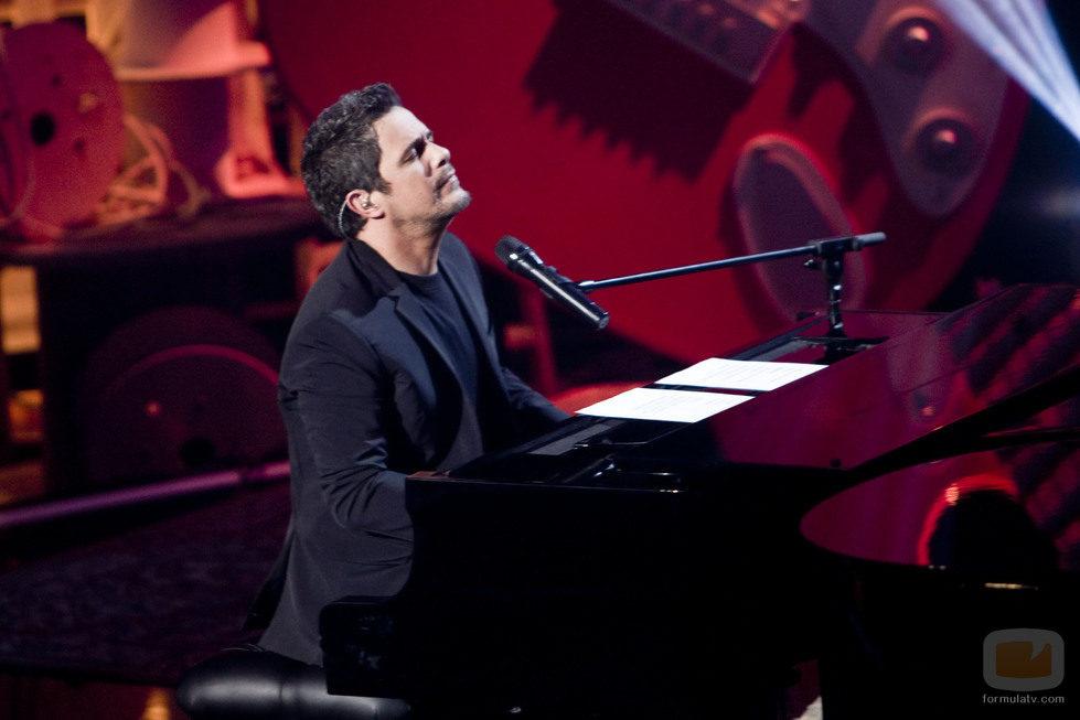 Alejandro Sanz en su especial de La 1 'Alejandro Sanz. La música no se toca'