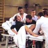 Macu dando a luz en 'Aida'