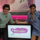 Angelino y Carmen Alcayde, presentadores de 'Las gafas de Angelino'