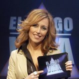 Emma García posa en un promo de 'El juego de tu vida'