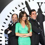 Jordi Sánchez, Vanesa Romero y Pablo Chiapella, presentadores de las Campanadas 2012 en Telecinco
