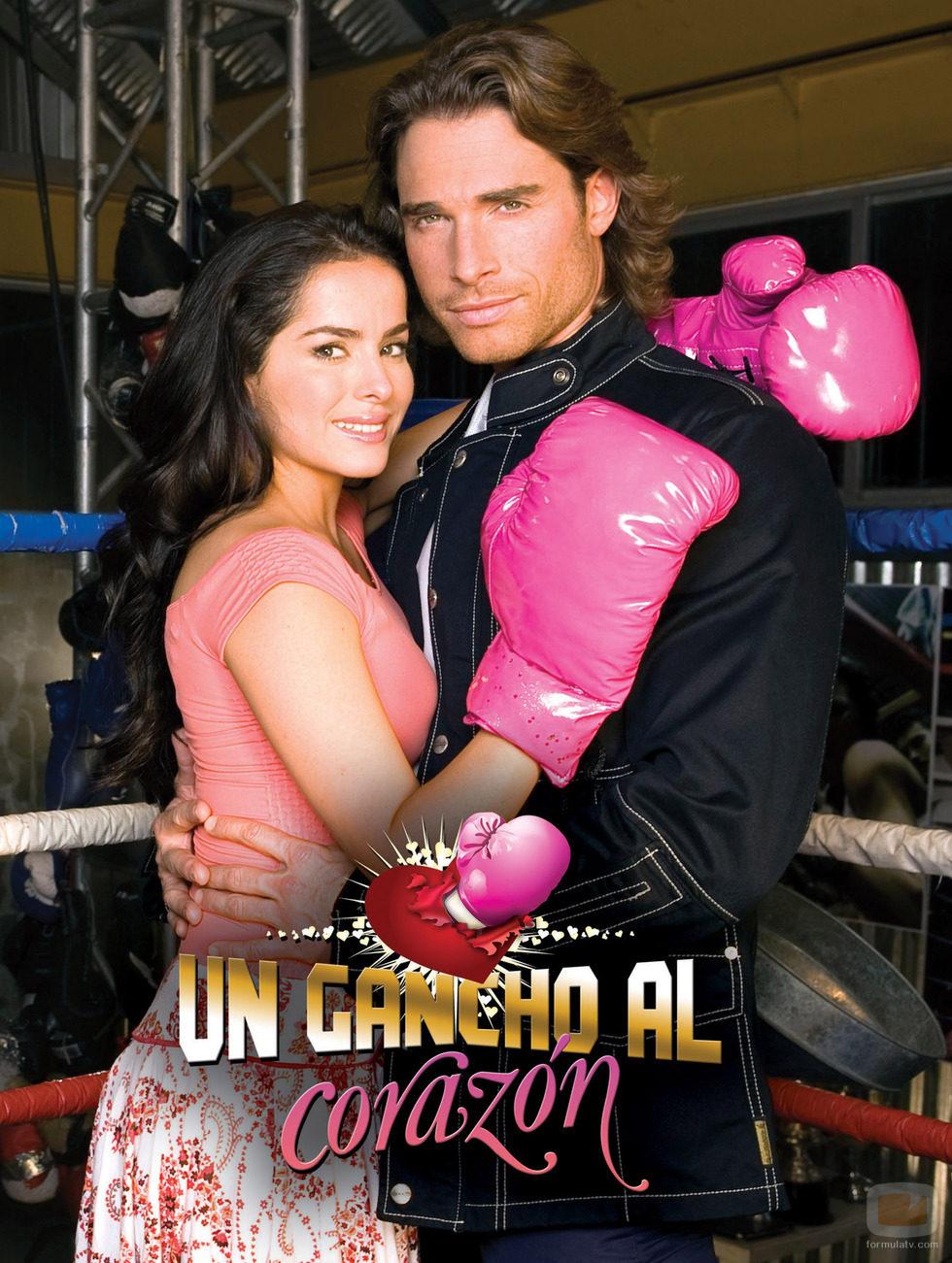 Danna García y Sebastián Rulli, protagonistas de 'Un gancho al corazón'