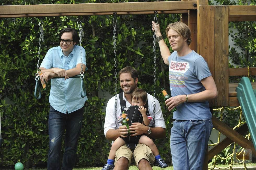 Adam, Mike y Ethan, protagonistas de 'Manos libres'