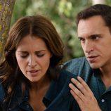 Lucía y su hermano Daniel Reverte en la tercera temporada de 'Gran Reserva'