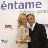 Ana Duato e Imanol Arias en la preestreno de la 14ª temporada de 'Cuéntame cómo pasó'