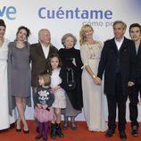 El reparto principal de 'Cuentame cómo pasó' en la preestreno de la 14ª temporada