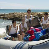 Los chicos de 'El Barco' llegan a tierra