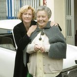 Ana Duato y María Galiana posan juntas en 'Cuéntame cómo pasó'